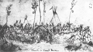 The Thunder or Round Dance by Frank Blackwell Mayer