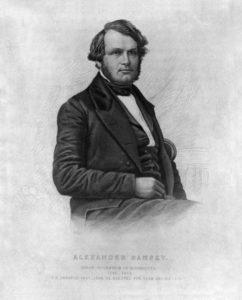 Minnesota Territorial Governor Alexander Ramsey (Minnesota Historical Society)